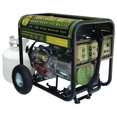 Sportsman 6,0007,000-Watt Portable Propane Generator with Electric Start