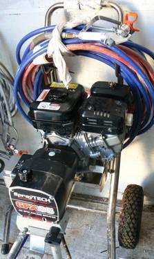 Spraytech Gpx85 Gas Airless Sprayer For Sale In Silt Colorado Classified Americanlisted Com