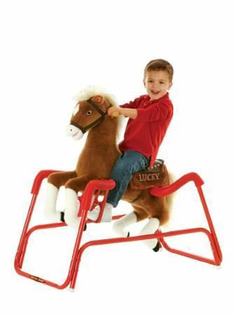 Spring rocking horse - $30