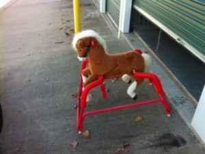 Spring Rocking Horse - $30 Sango