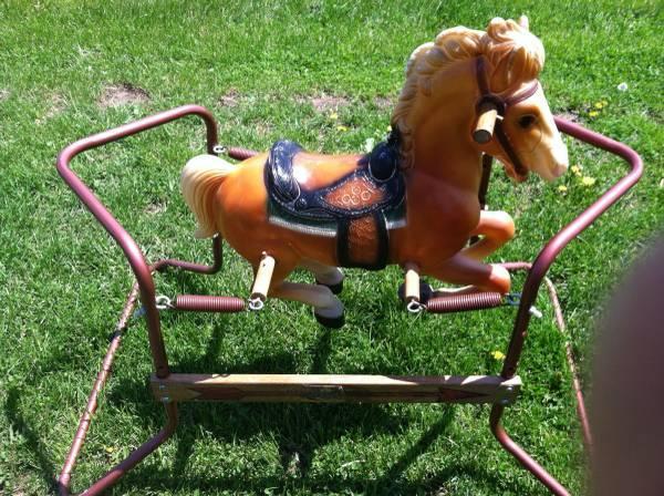 Spring Rocking Horse older style - $100