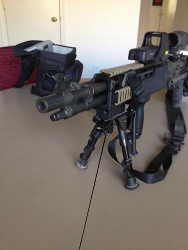 Springfield armory M1A / M14 socom 16 with sage EBR stock