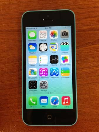 Sprint iPhone 5C 16GB Blue Used - for Sale in Meskegon