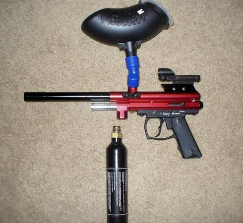 Spyder Paintball gun - $60