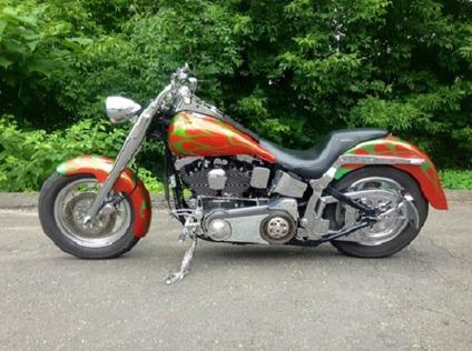sq1998 Harley Davidson Fatboy SoftailF.8q