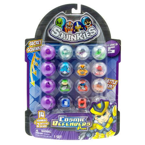 Squinkies Toys For Boys : Squinkies boys bubble packs series cosmic defenders