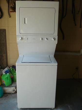 Stack set washer and dryer - $400