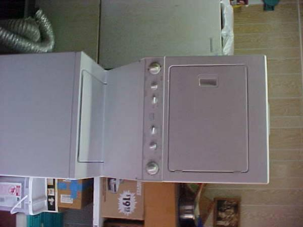 Stack washer and Electric Dryer - $300