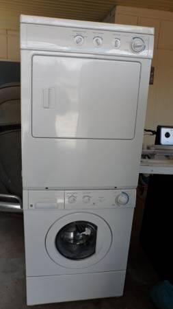Stackable Washer and Dryer - $475