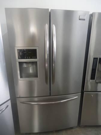 stainless steel frigidaire gallery french door refrigerator for sale in bermuda dunes. Black Bedroom Furniture Sets. Home Design Ideas