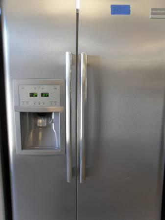 Stainless Steel Frigidaire Side by Side Refrigerator for sale - $775