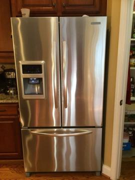 Stainless Steel KitchenAid Refrigerator-SOLD, NO LONGER AVAILABLE