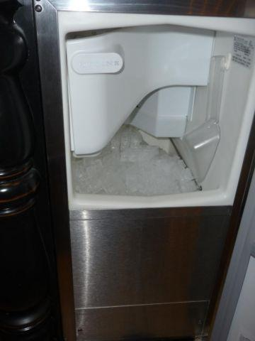 Stainless steel uline clear ice maker model number CLR2060