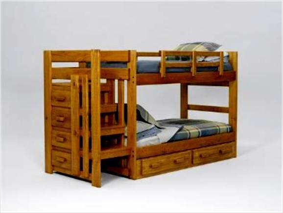 Stairs bunk bed w drawers rochester for sale in rochester new york classified - Bunk bed with drawer steps ...