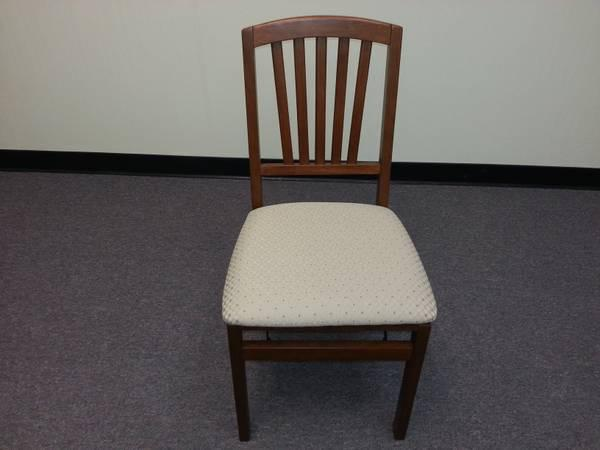 Stakmore Solid Wood Folding Chairs   Brand New   Sale 2