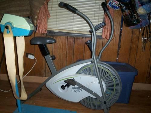 Stamina Ux2 Air Exercise Bike Amp Vintage Massage Belt For