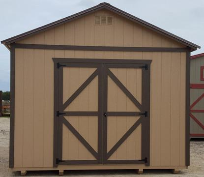Standard wood Utility storage sheds 12x16 portable ...