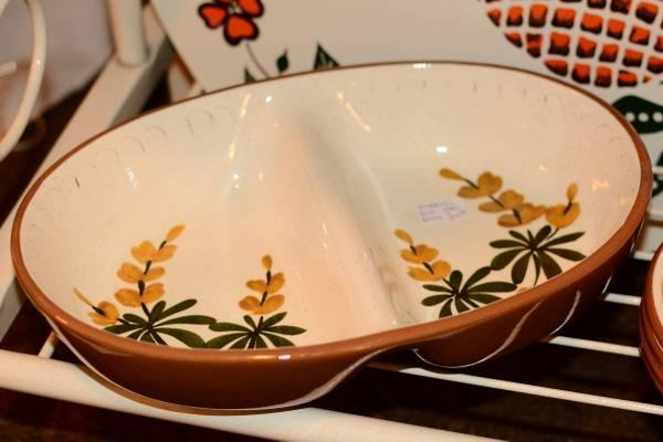 Stangl Pottery - Divided Vegetable Dish - $24