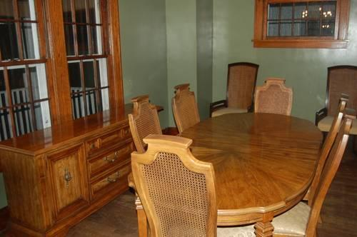 Stanley furniture 9 piece dining room set for sale in for Stanley furniture dining room sets