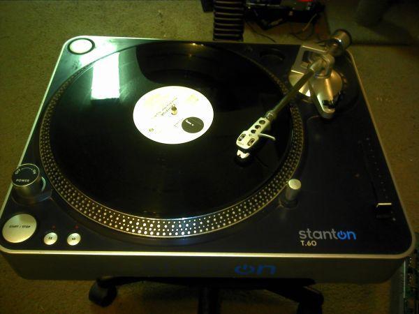 Stanton T.60 TurnTable w/ New Needle - (Fresno State) for ...