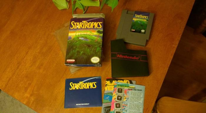 Star Tropics WITH LETTER for the NES