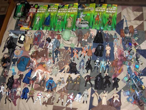 Star Wars Action Figures - Large Lot - $120
