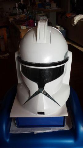 Star Wars Clone Trooper FX Voice Changer Helmet MASK, MADE by Hasbro