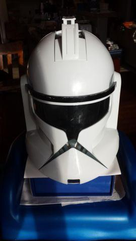 Star Wars Clone Trooper Sounds Voices FX MASK HELMET MADE by Hasbro