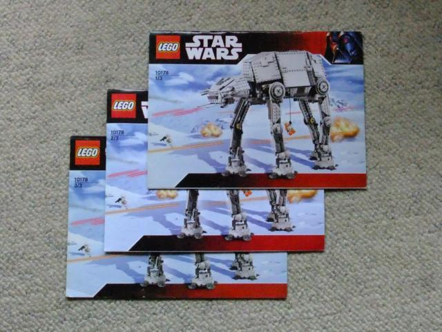 STAR WARS LEGO Motorized AT-AT #10178