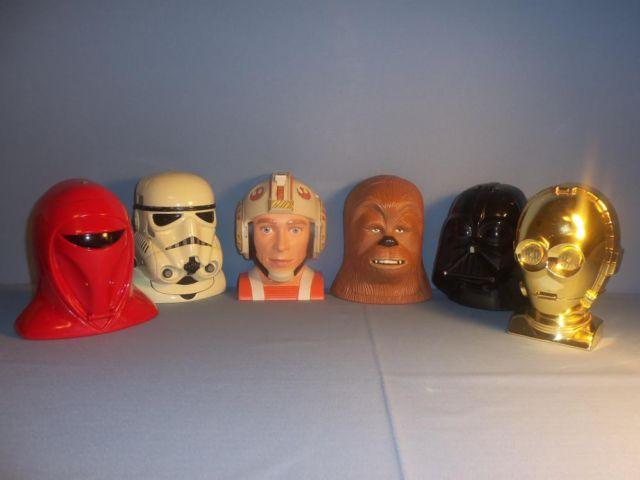 Star Wars MicroMachine Set of 6