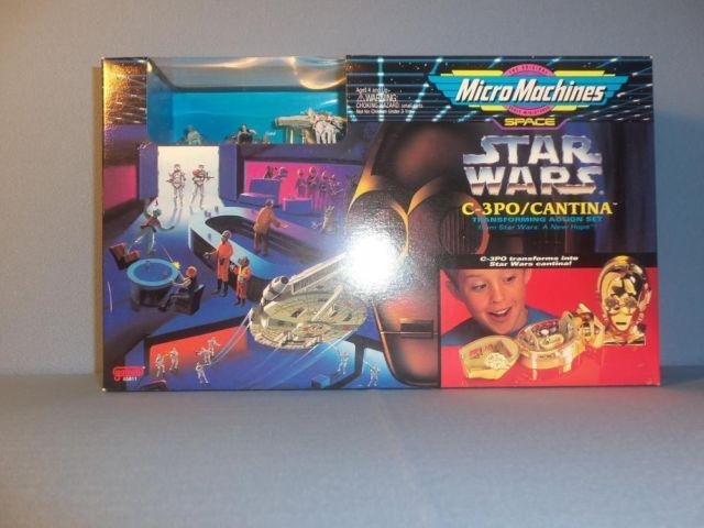 Star Wars Space C-3PO/Cantina MicroMachine Box Set