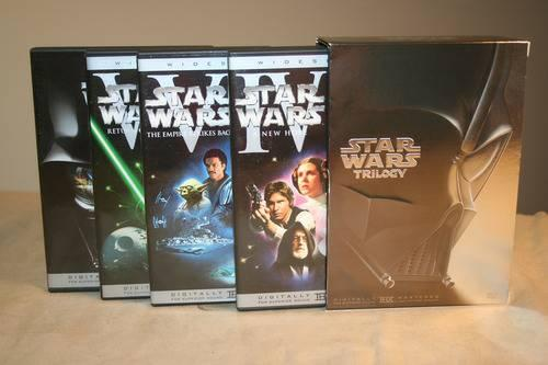 Star Wars Trilogy Dvd Collection .(Widescreen) - $20