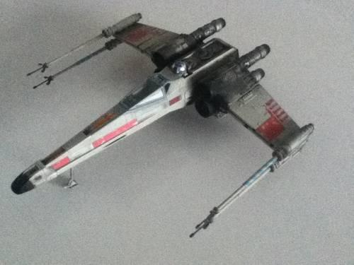 Star wars x wing fighter toy model hasbro 2002 today only for sale