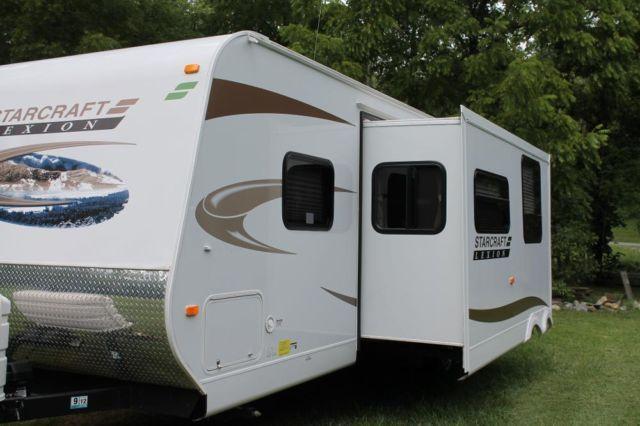 Starcraft lexion s lite travel trailer camper 2011 one for Lite craft camper specs