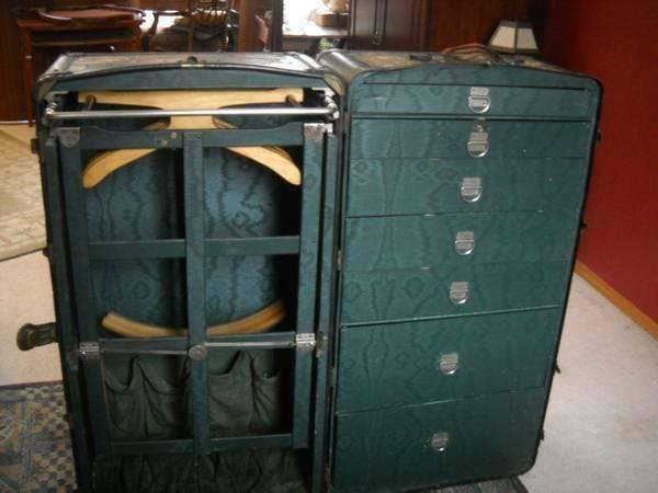 **STEAMER WARDROBE TRUNK**
