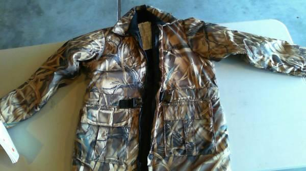 Stearns Hip Length Camo Flotation Jacket - $30