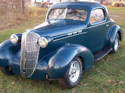 Steel 1936 Oldsmobile 3 Window Coupe Rare Street Rod Hot Rod