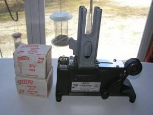 steelpix stemming machine model 35e