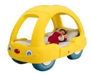 Step 2 Beetle Car Toddler Bed - $75 (Richmond Hill)