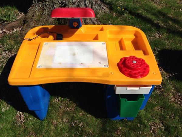 Step 2 Little Tikes Fisher Price art craft kids desk - $45