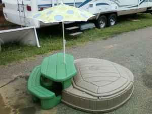 Step 2 Picnic Table Sandbox Taylorsville For Sale In