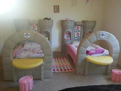 Step 2 princess castle toddler twin bed for sale in for 2 twin beds for sale
