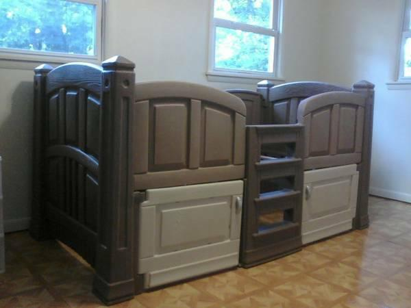 step 2 twin bed and storage 100 - Twin Bed For Sale