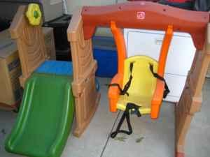 step2 play up toddler swing slide hanford for sale in hanford california classified. Black Bedroom Furniture Sets. Home Design Ideas