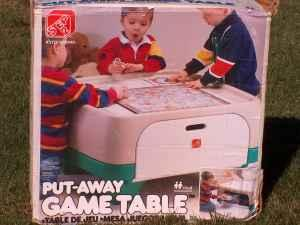 STEP2 PUT-AWAY GAME TABLE - NEW IN BOX - $39 BLAIROMAHA