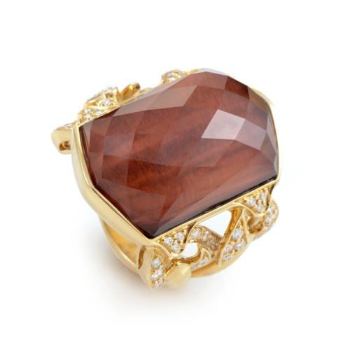 Gemstone Poison Ring