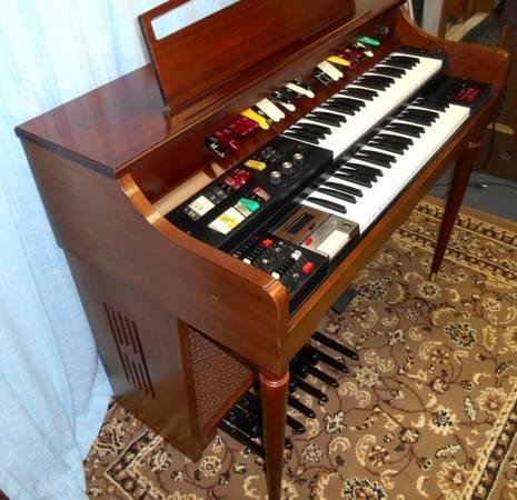 Stereo Lowrey Spinet Organ Citation 85