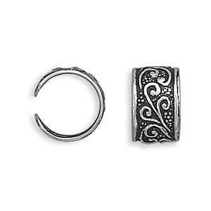Sterling Silver Ear Cuffs In Assorted Designs with FREE