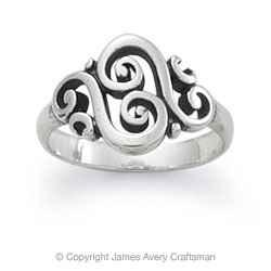 STERLING SILVER JAMES AVERY RING! - $35 (BA/TULSA)