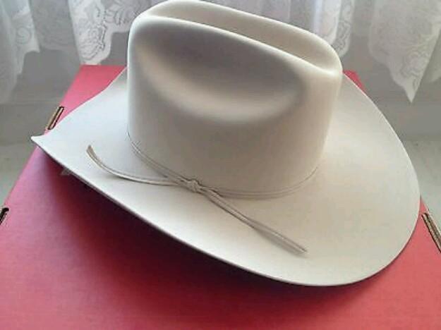 Stetson Cowboy Hat 5X Beaver Fur Felt Cowboy Ranch Tan for sale in Grand  Prairie ffde9feca23